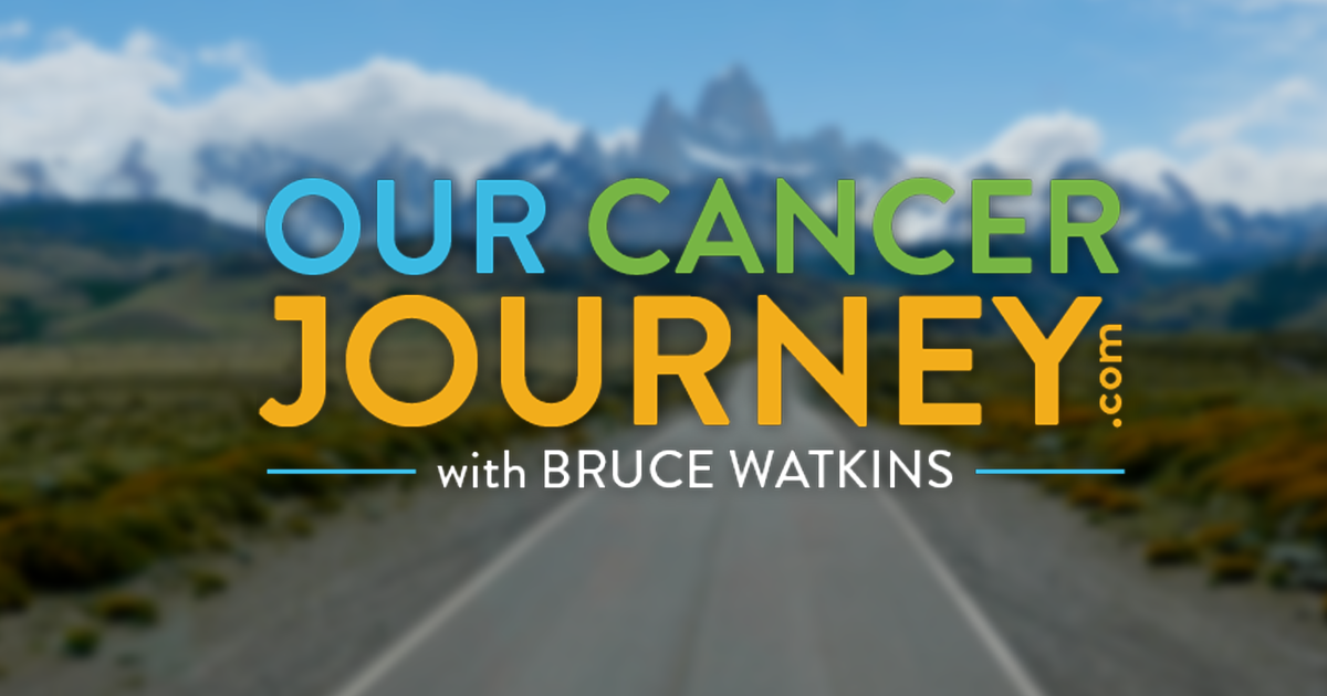 Logo for the Our Cancer Journey Podcast and ourcancerjourney.com