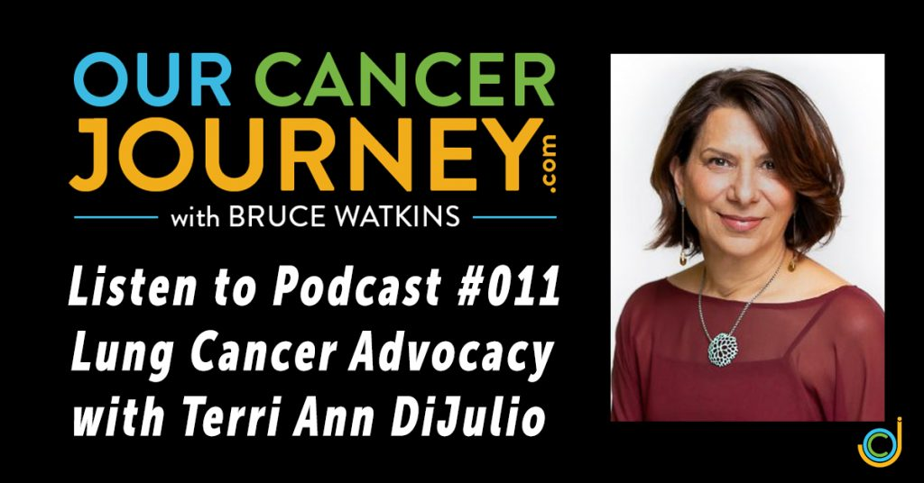 Episode 001 of the Our Cancer Journey Podcast Promo Pic